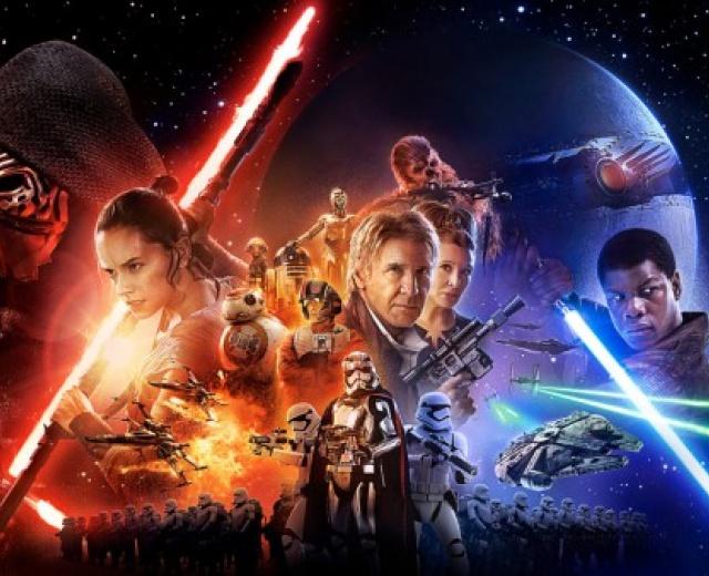 Going. | Zajmij się czymś w oczekiwaniu na Gwiezdne Wojny